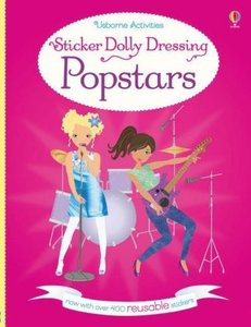 Sticker Dolly Dressing: Popstars