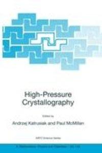 High-Pressure Crystallography