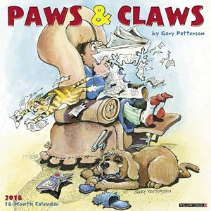 Gary Patterson\'s Paws N Claws 2018 Wall Calendar