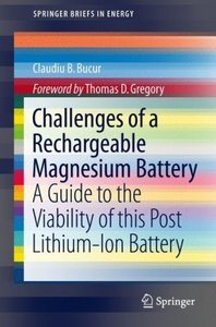 Challenges of a Rechargeable Magnesium Battery