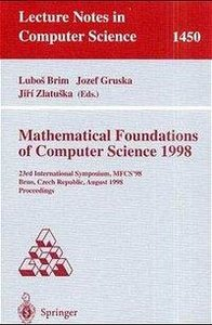 Mathematical Foundations of Computer Science 1998