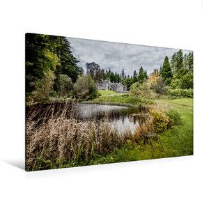 Premium Textil-Leinwand 120 cm x 80 cm quer Ardanaiseig House