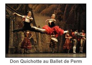 Don Quichotte au Ballet de Perm (Livre poster DIN A3 horizontal