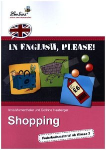 In English, please! Shopping (PR)