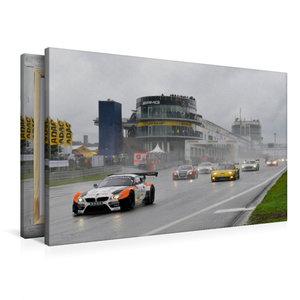Premium Textil-Leinwand 90 cm x 60 cm quer ADAC GT Masters