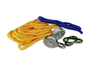 Corvus A750130 - Kids at work: Seilzug, Flaschenzug mit Seil