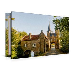 Premium Textil-Leinwand 120 cm x 80 cm quer Oostpoort