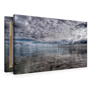 Premium Textil-Leinwand 75 cm x 50 cm quer Wolkenspiel