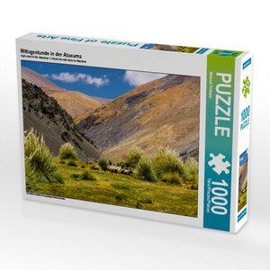 Mittagsstunde in der Atacama 1000 Teile Puzzle quer