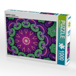 jellyfish in space 1000 Teile Puzzle quer