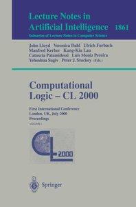 Computational Logic - CL 2000