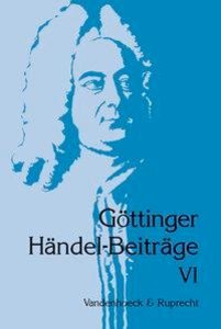 Europäische Traditionen im Spätwerk Händels