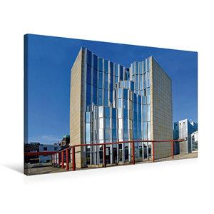Premium Textil-Leinwand 75 cm x 50 cm quer Museum Abteiberg