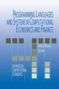 Programming Languages and Systems in Computational Economics and