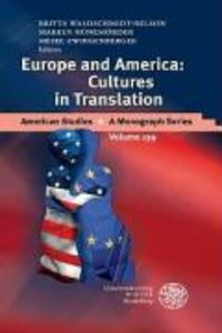 America and Europe: Cultures in Translation