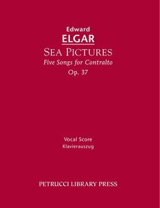 Sea Pictures, Op. 37: Vocal Score