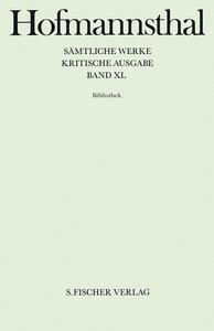 Sämtliche Werke Bd.40 Bibliothek
