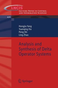 Analysis and Synthesis of Delta Operator Systems