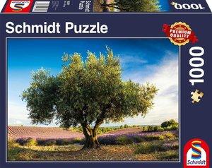 Olivenbaum in der Provence (Puzzle)