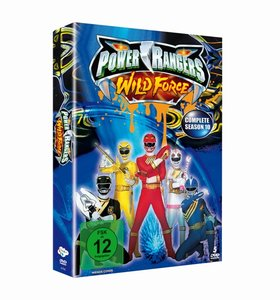 Power Rangers - Wild Force - Die komplette Staffel 10