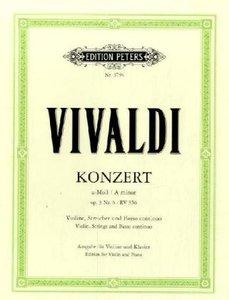 Konzert für Violine, Streicher und Basso continuo a-Moll op. 3 N