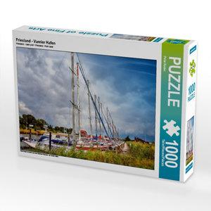 Friesland - Vareler Hafen 1000 Teile Puzzle quer