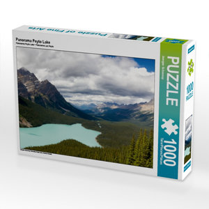 Panorama Peyto Lake 1000 Teile Puzzle quer