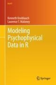 Modeling Psychophysical Data in R
