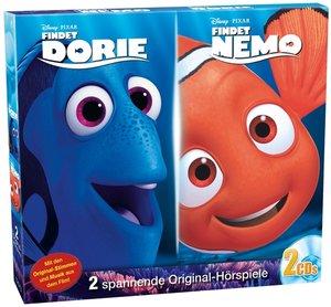 Findet Nemo/Findet Dorie, 2 Audio-CDs