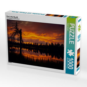 Fire in the Sky #2 1000 Teile Puzzle quer