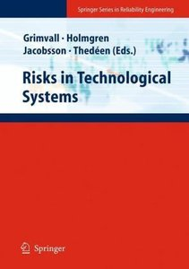 Risks in Technological Systems