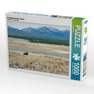 Wandbild Hayden Valley 1000 Teile Puzzle quer
