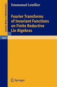 Fourier Transforms of Invariant Functions on Finite Reductive Li