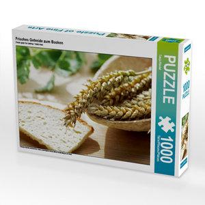 Frisches Getreide zum Backen 1000 Teile Puzzle quer