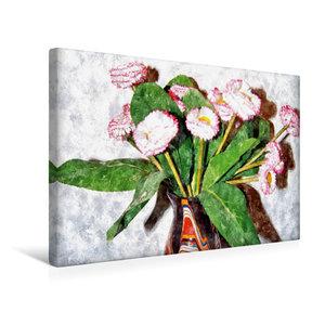 Premium Textil-Leinwand 45 cm x 30 cm quer Wasserfälle der Plitv