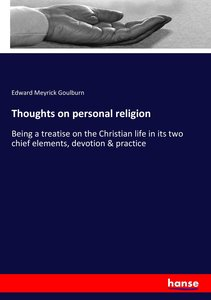 Thoughts on personal religion