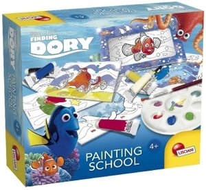 Finding Dory (Kinderspiel), Painting School