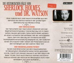 Die Memoiren des Sherlock Holmes. Die Verwachsene & Der niederge