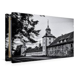 Premium Textil-Leinwand 90 cm x 60 cm quer Westseite