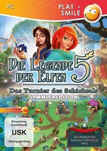 Die Legende der Elfen 5, Das Turnier des Schicksals, 1 CD-ROM