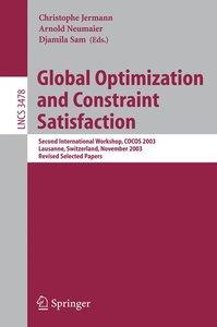 Global Optimization and Constraint Satisfaction