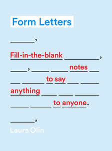 Form Letters