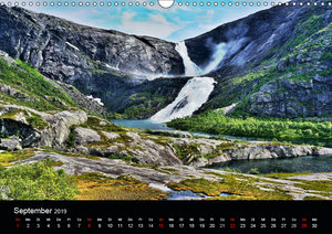 Atemberaubendes Norwegen (Wandkalender 2019 DIN A3 quer)