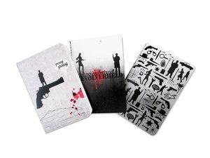 Krimiwelt Notizheft 3er-Pack