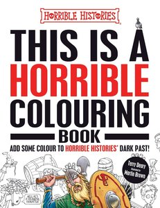 This is a Horrible Colouring Book