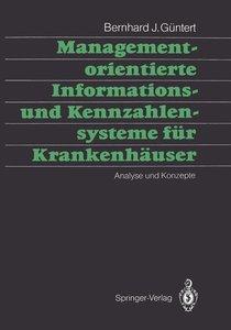 Managementorientierte Informations- und Kennzahlensysteme für Kr