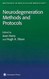 Neurodegeneration Methods and Protocols