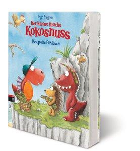 Drache Kokosnuss Pappbilderbuch - Fühlbuch