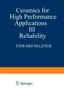 Ceramics for High-Performance Applications III