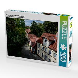 Häuser unterhalb am Burgring 1000 Teile Puzzle quer